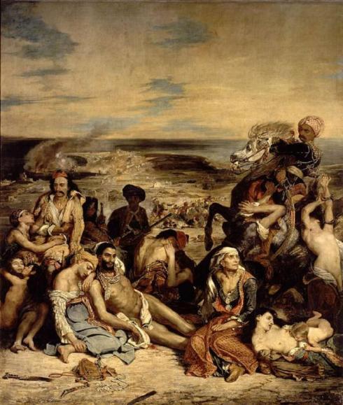 Ὁ Delacroix & ἡ Ἑλληνικὴ Ἐπανάσταση... 1