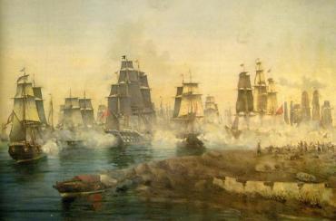 3 Αὐγούστου 1789. Ὁ Κατσώνης κυνηγᾶ Ἀλγερινούς.