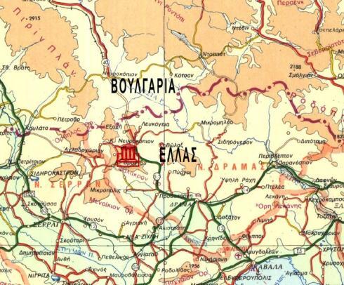 8 Ἰουλίου 1913. Ὁ Ἑλληνικὸς στρατὸς διασχίζει τὰ στενὰ τῆς Κρέσνης.